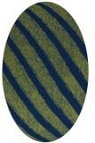 rug #484493 | oval stripes rug