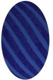 rug #484561 | oval blue-violet rug