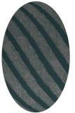 rug #484586 | oval stripes rug