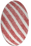 rug #484680 | oval stripes rug