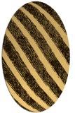 rug #484755 | oval stripes rug