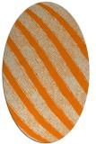 rug #484774 | oval stripes rug