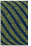 rug #484845 |  green stripes rug