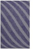 rug #484897 |  blue-violet stripes rug