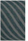 rug #484937 |  blue-green stripes rug