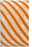 rug #485001 |  orange stripes rug