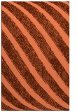 rug #485009 |  red-orange stripes rug