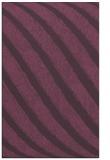 rug #485033 |  purple stripes rug