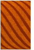 rug #485065 |  red-orange stripes rug