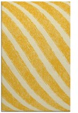 rug #485097 |  yellow stripes rug
