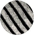 rug #485165   round white stripes rug