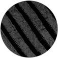 rug #485169 | round black stripes rug