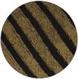 rug #485181 | round mid-brown stripes rug