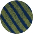 rug #485197 | round green stripes rug
