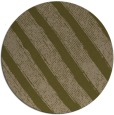 rug #485281 | round mid-brown stripes rug