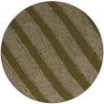 rug #485281 | round mid-brown stripes rug