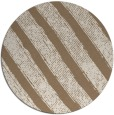 rug #485313 | round mid-brown stripes rug