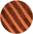 rug #485361 | round orange rug