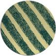 rug #485365   round yellow stripes rug