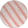 rug #485381   round white stripes rug