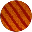 rug #485405 | round red stripes rug