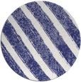 rug #485441   round blue stripes rug