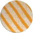 rug #485509 | round light-orange rug