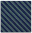 rug #487657 | square blue-green stripes rug