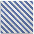 rug #487665 | square blue stripes rug