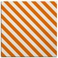 rug #487817 | square orange stripes rug