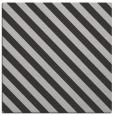rug #487825 | square red-orange stripes rug