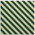 rug #487829 | square yellow stripes rug