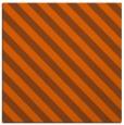 rug #487889 | square red-orange stripes rug
