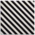 rug #487897 | square white stripes rug