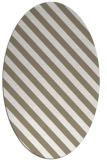 rug #487977 | oval white popular rug