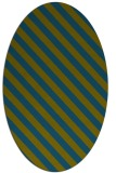 rug #488037 | oval stripes rug