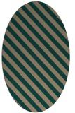 rug #488100 | oval stripes rug