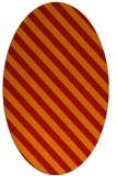 rug #488221 | oval red rug