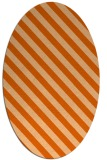 rug #488237 | oval stripes rug