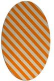 rug #488293   oval beige stripes rug