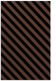rug #488345 |  black stripes rug