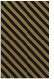 rug #488349 |  brown stripes rug