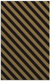 rug #488349 |  mid-brown stripes rug