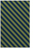 rug #488365 |  green stripes rug