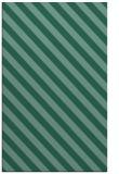rug #488385 |  blue-green stripes rug
