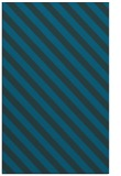 rug #488409 |  blue stripes rug