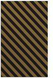 rug #488445 |  black stripes rug