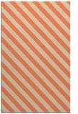 rug #488525 |  orange stripes rug