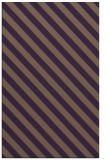 rug #488561 |  mid-brown stripes rug