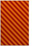 rug #488573 |  orange stripes rug